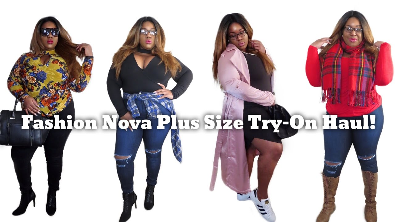 fashion nova plus size try-on haul| blackchinabear| #fashionnova
