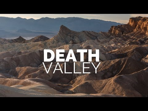 Landscape Photography in The Desert of Death Valley National Park | An Epic Sunrise and Sunset