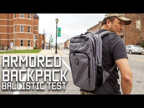 Bulletproof Concealed Carry Bag  | Leatherback | Tactical Rifleman