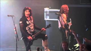 W.A.S.P. - I Wanna Be Somebody Live @ Väggahallen, Karlshamn 2015