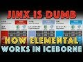 Jinx is dumb. How Elemental ACTUALLY WORKS in MHW Iceborne