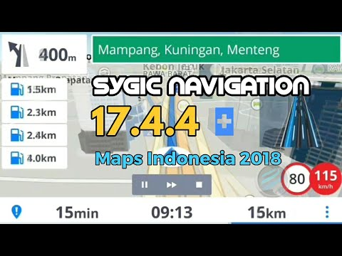 Download Sygic Map Indonesia GPS Sygic Navigation 17.4.4 Full | UPDATE Maps Indonesia 2018