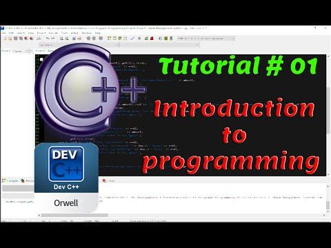 Tutorial#01 - Introduction to programming - C++ Programming by Coding Hub thumbnail