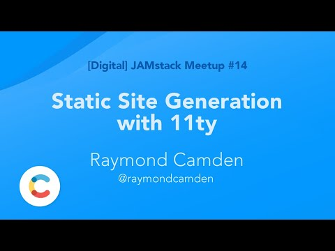 Static Site Generation With 11ty By Raymond Camden
