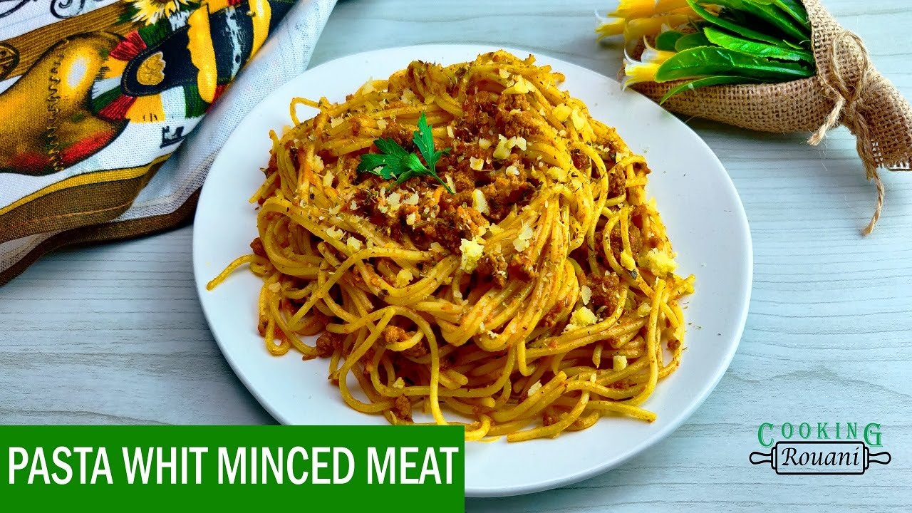 how to cook pasta with mince