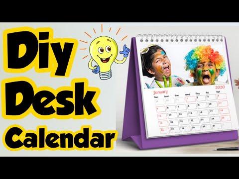 Настольный календарь своими руками — Как сделать календарь дома на 2021 год / Настольный календарь своими руками / Календарь своими руками 2021🎉
