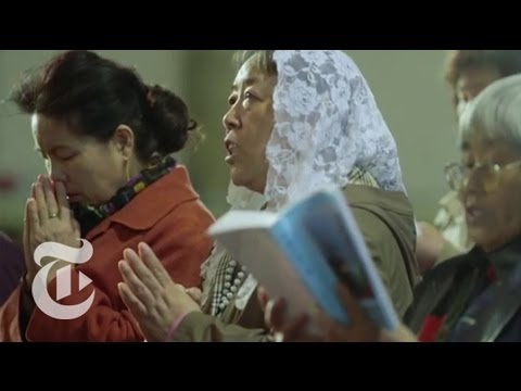 China Chafes at Christianity's Growth | The New York Times