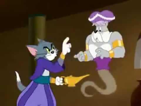 Mèo tom va đèn thần .tom va jerry