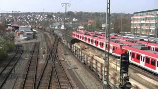 Stuttgarter Gäubahn: Güter-Umleiterzüge vom 15.und 17.April 2010