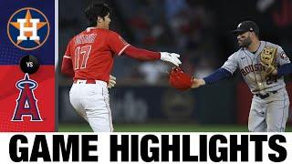Astros vs Angels Game Highlights (9/22/21) | MLB Highlights
