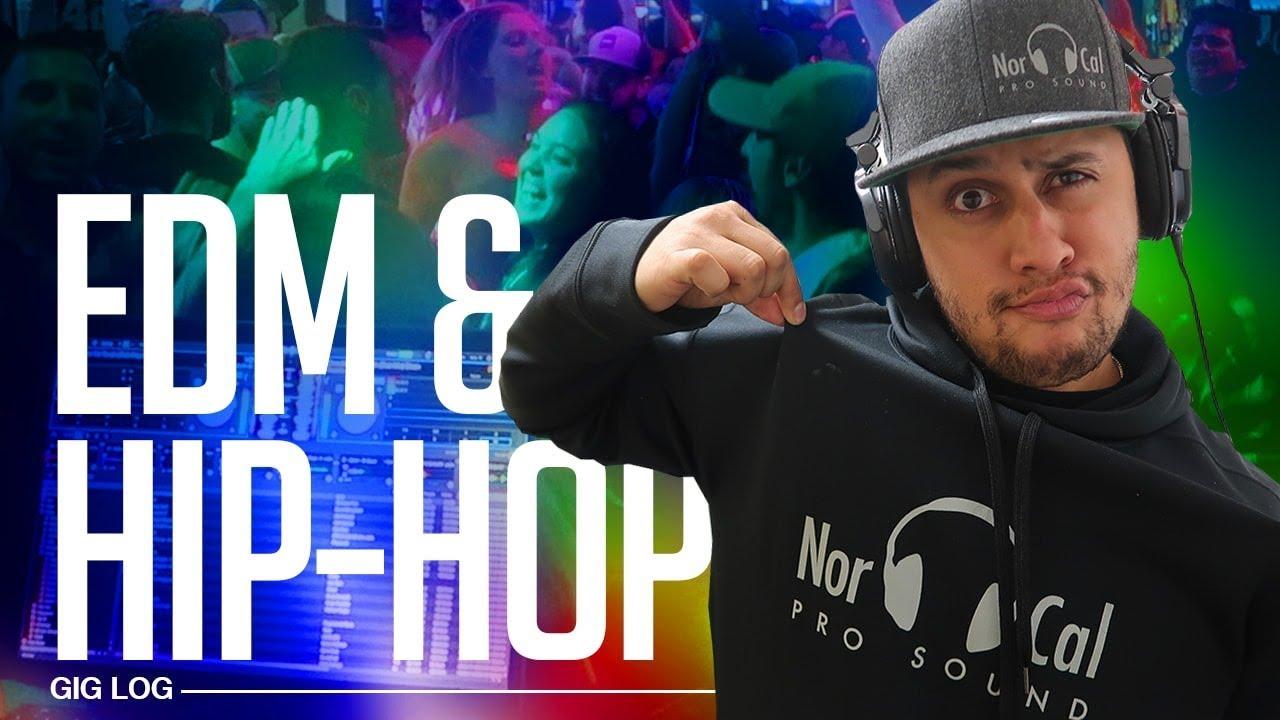 DJ GIG LOG: They LOVE HIP-HOP & EDM | The Perfect Crowd for any DJ