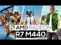 AMD Radeon R7 M440 Gaming Performance!