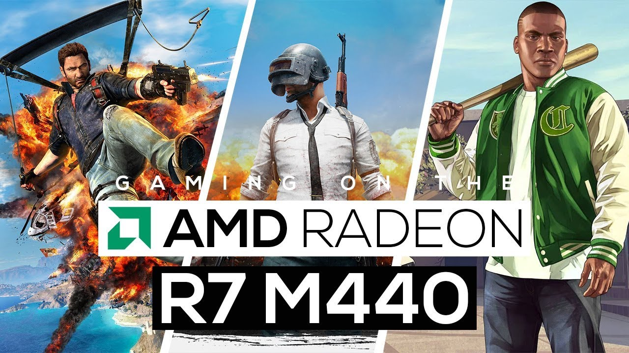 AMD Radeon R7 M440 Gaming Performance!