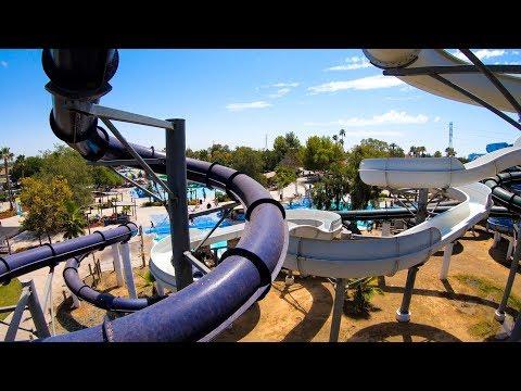 Hawaiian Adventures White Slide - Island Water Park - Fresno, CA