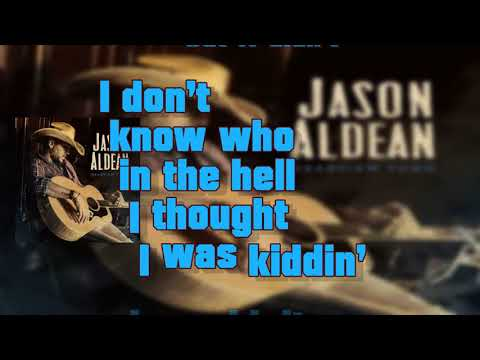 Better At Being Who I Am - Jason Aldean (Lyrics)