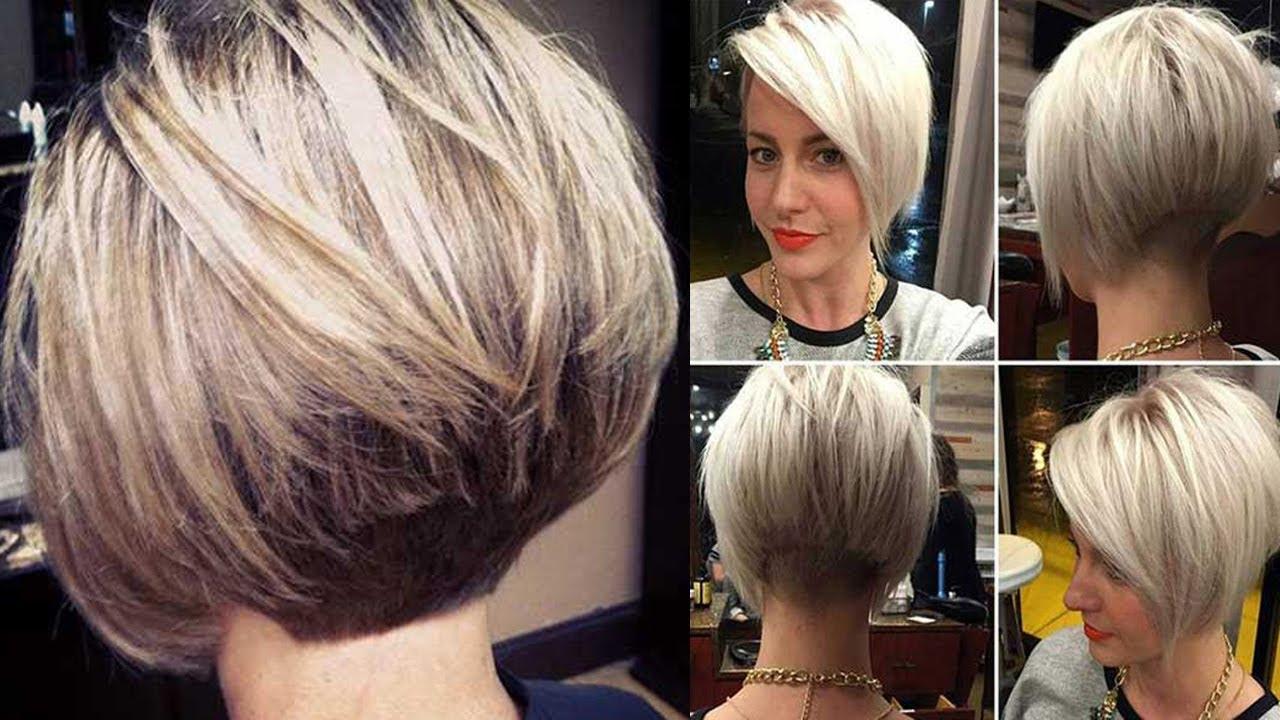 style bob haircut women