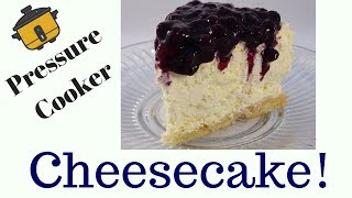Pressure Cooker Low-Carb Cheesecake - with yoyomax12