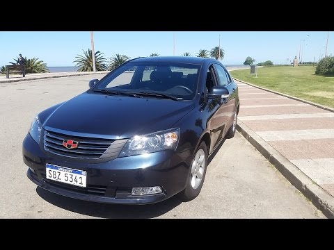 Geely Emgrand Test Drive