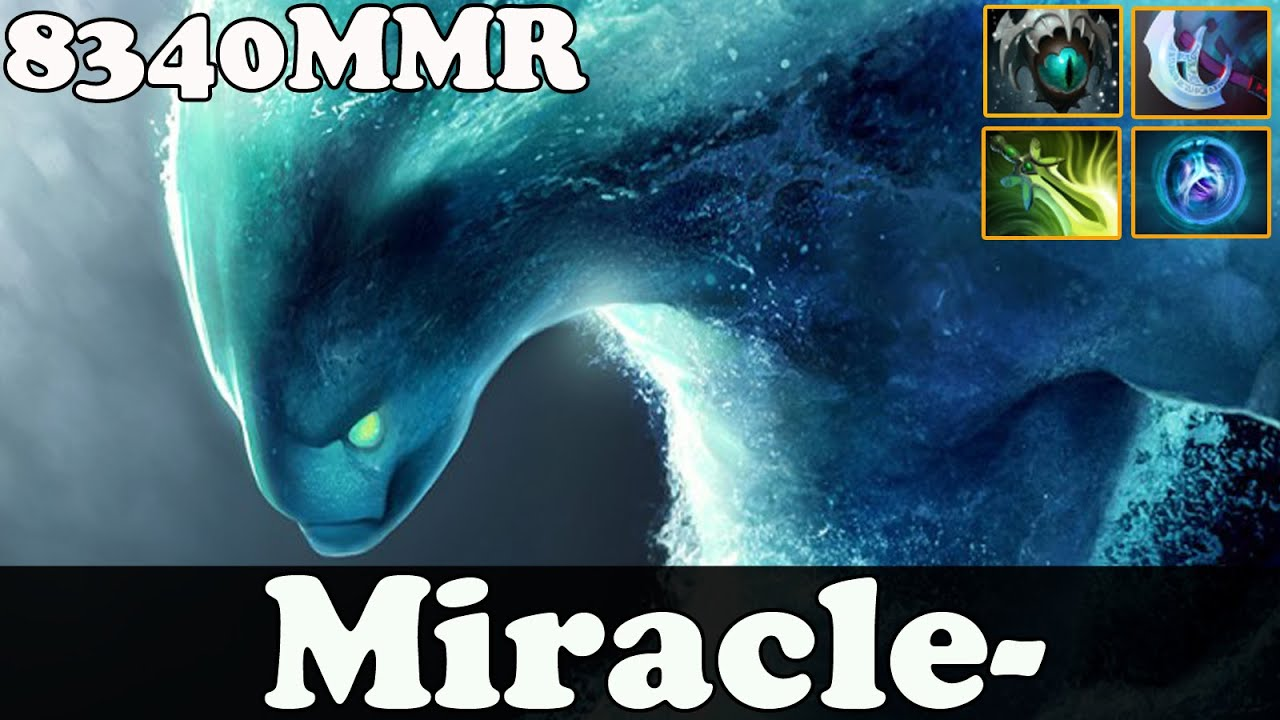 dota 2 miracle 8340 mmr plays morphling ranked match gameplay