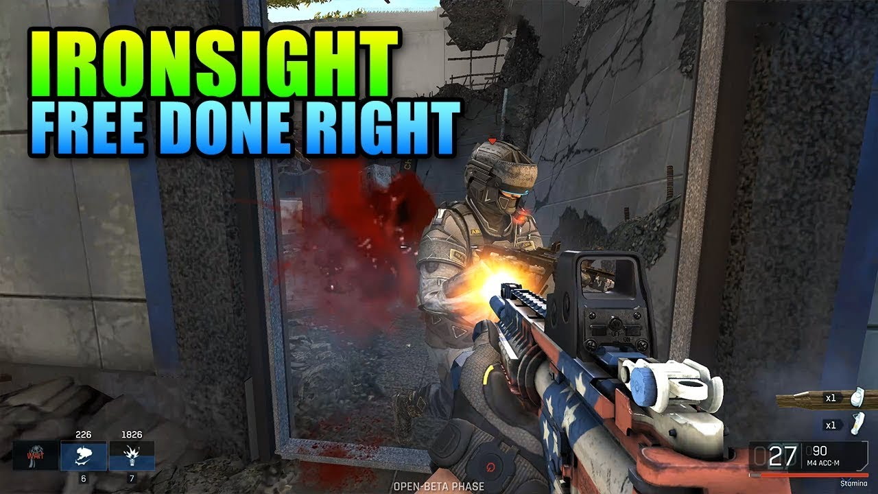 Iron Sight Beta
