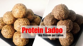 Protein Ladoo Recipe | How to make Protein Ladoos At Home | Oats, Ragi For Weight Loss | In Hindi