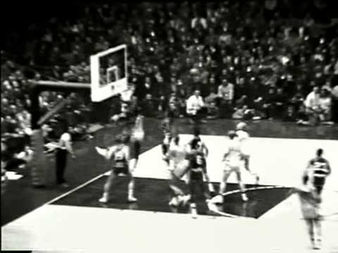 1956 NCAA College Basketball Chapionship Game. Iowa v. San Fransisco