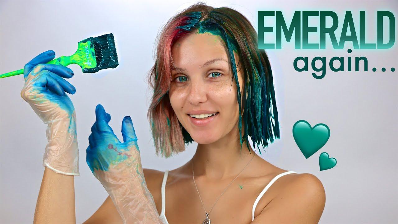 Dyeing my hair Emerald...AGAIN