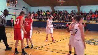 NDII High School Lady Sabres vs Hastings Red Tide 3/07/14