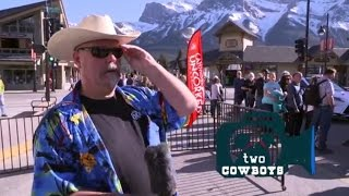 Traveling Cowboys: Long Table Dinner in Downtown Canmore for Uncorked 2017