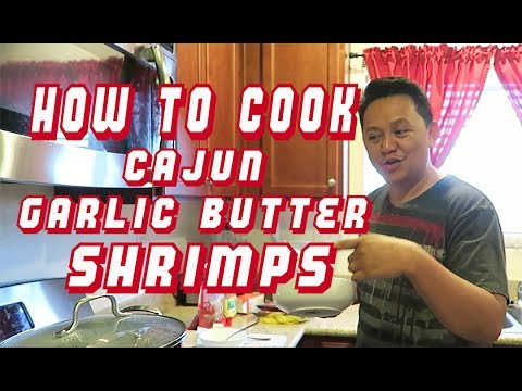 How to Cook Cajun Garlic Butter Shrimps. Chibugan time!! Vlog #81