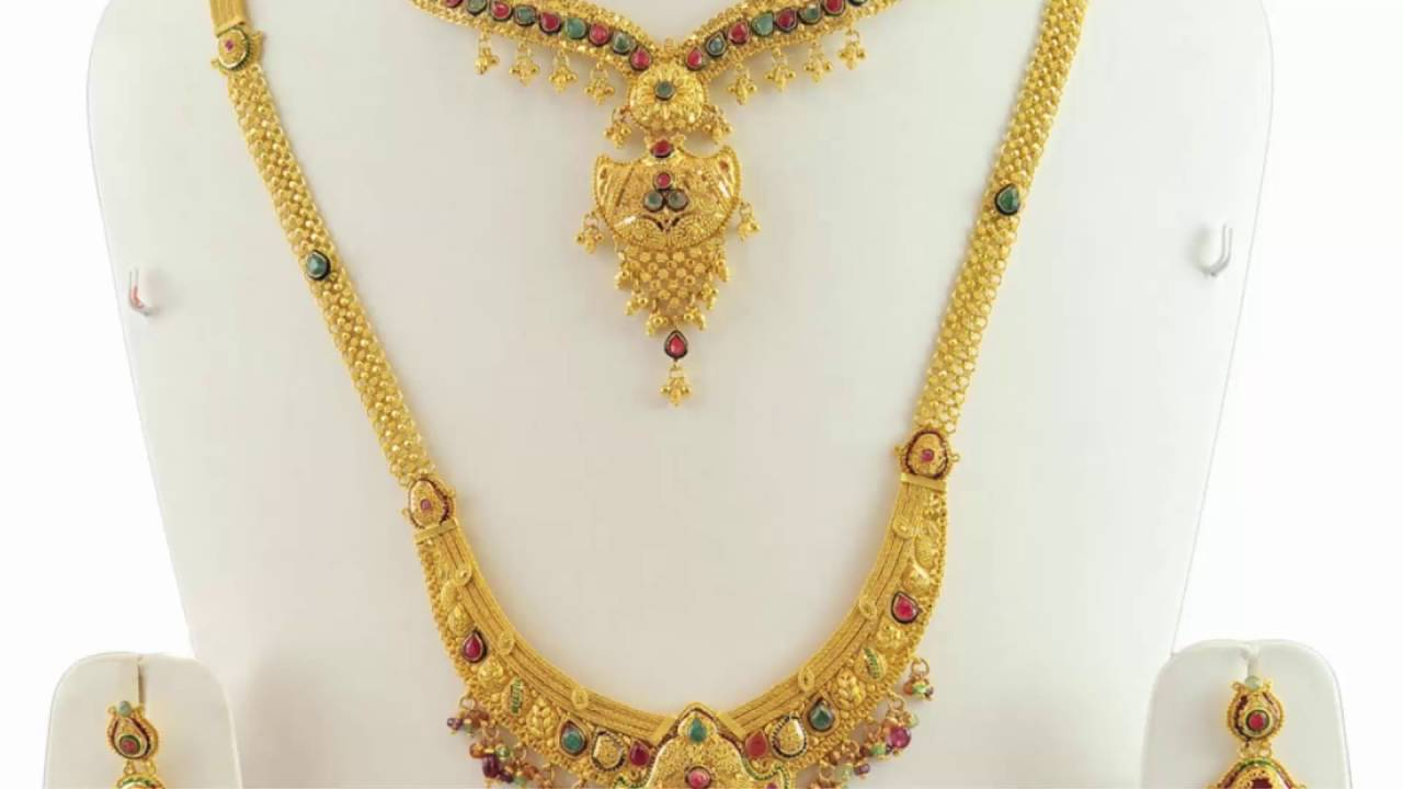 gold necklace designs - joyalukkas jewellery designs | top 8 ...