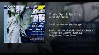 Tristia, Op. 18: No. 2. La mort d