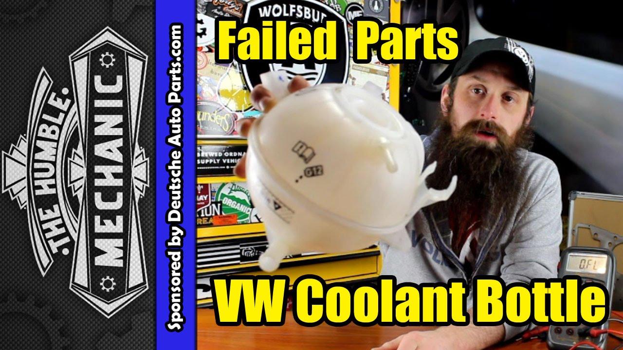 How Vw Coolant Bottles Fail Youtube 02 Jetta Vr6 Diagram Wiring Schematic