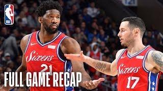 CAVALIERS vs 76ERS | Joel Embiid & Ben Simmons Lead Philadephia | March 12, 2019