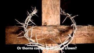 When I Survey The Wondrous Cross (song)