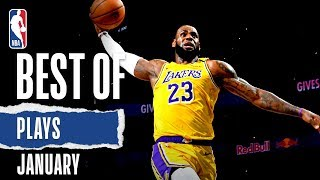 NBA's Best Plays | January | 2019-20 NBA Season