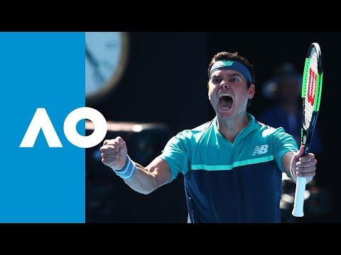 Alexander Zverev v Milos Raonic match highlights (4R)   Australian Open 2019