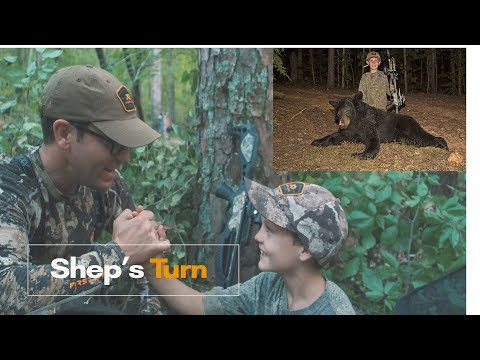 Nine-year old Arkansas boy takes bear with crossbow off the ground