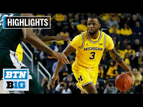 Highlights: Simpson Scores 16 In Win | Michigan State At Michigan | Feb. 8, 2020