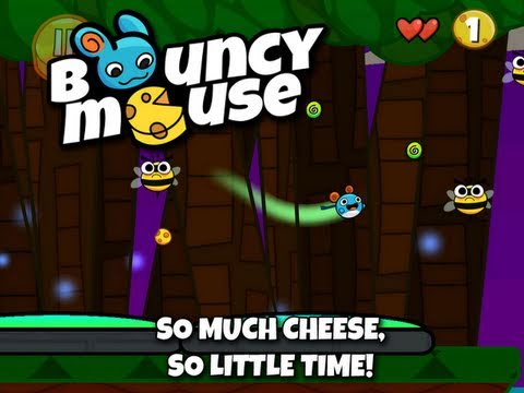 Bouncy Mouse iOS Trailer