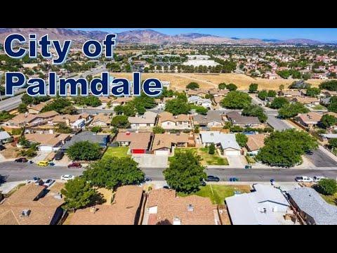 Ciudad de Palmdale en el condado de Los Angeles - California