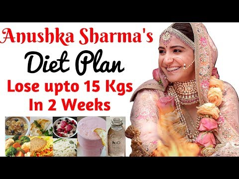 Anushka Sharma Diet Plan For Weight Loss हिंदी में | How to Lose Weight Fast upto 10kgs | Celeb Diet