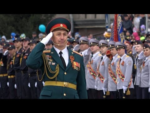 Парад Победы в Красноярске
