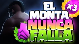 EL MONTAPUERCOS ESTÁ OP EN CUALQUIER MODO DE JUEGO | Clash Royale