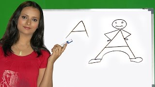 How to draw an alphabets drawing in Tamil | Easy step by step drawing | alphabets drawing