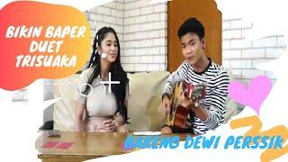 BIKIN BAPER EUY!! Dewi Perssik Duet  Bareng Tri Suaka