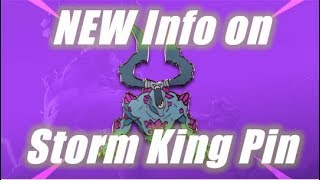 Limited Time Give Away, Storm King Pin Info / Fortnite Save the World
