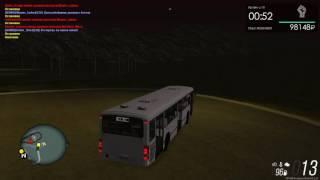 MTA Province. Автобус 34. Маршрут Завод ЖБК - ЖД Вокзал