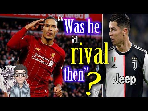 Cristiano Ronaldo's sister blasts Virgil van Dijk over his joke ● Liverpool Football News