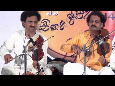 Krishna nee begane baaro =Umayalpuram K Sivaraman = Mysore Manjunath and Nagaraj = voilin duet